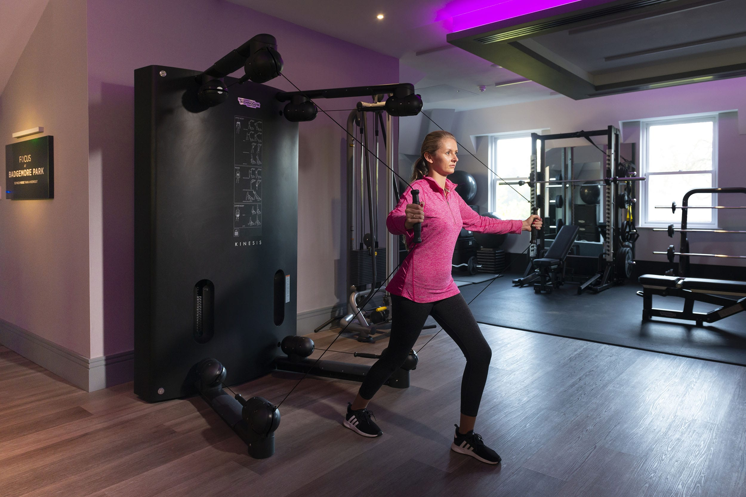 Best gym in Henley-on-Thames with TRX exercise classes at Badgemore Park