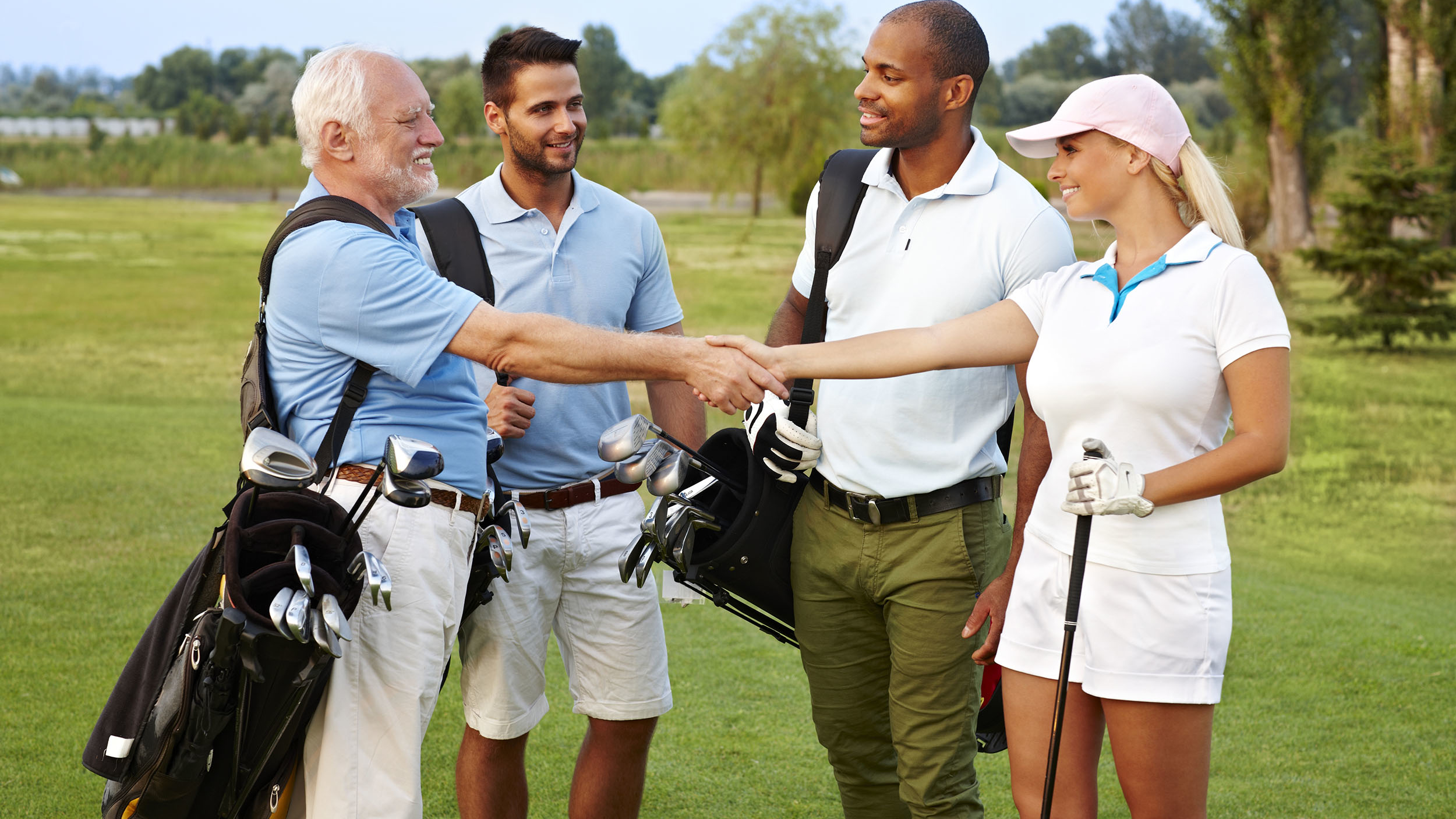 Group Golf Tournament in Henley